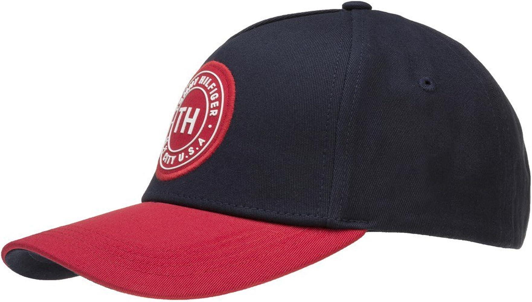 Tommy Hilfiger Gorra de béisbol TH Badge Azul Marino-Rojo ...