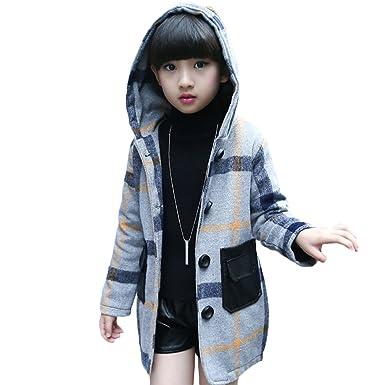 fd0b97d3ba9e9 Snone 子供服 ジャケット キッズ コート 女の子 ガールズ アウター 防寒着 チェック柄 チェスターコート 風