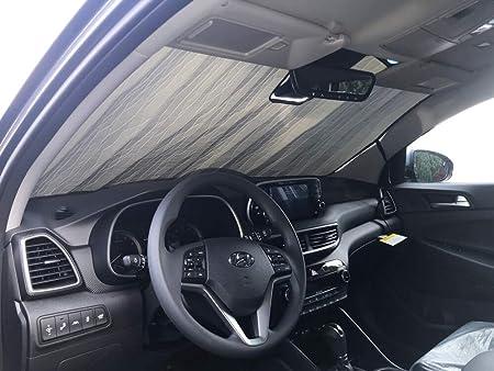 AutoTech Zone Sun Shade for 2017-2018 Hyundai Ioniq Sedan 4 Pieces Custom-fit All Side Windows Sun Shade
