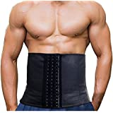 Imurz Men's Tummy Waist Trainer Belt,Weight Loss- Abdominal Muscle & Back Supporter,adjustable