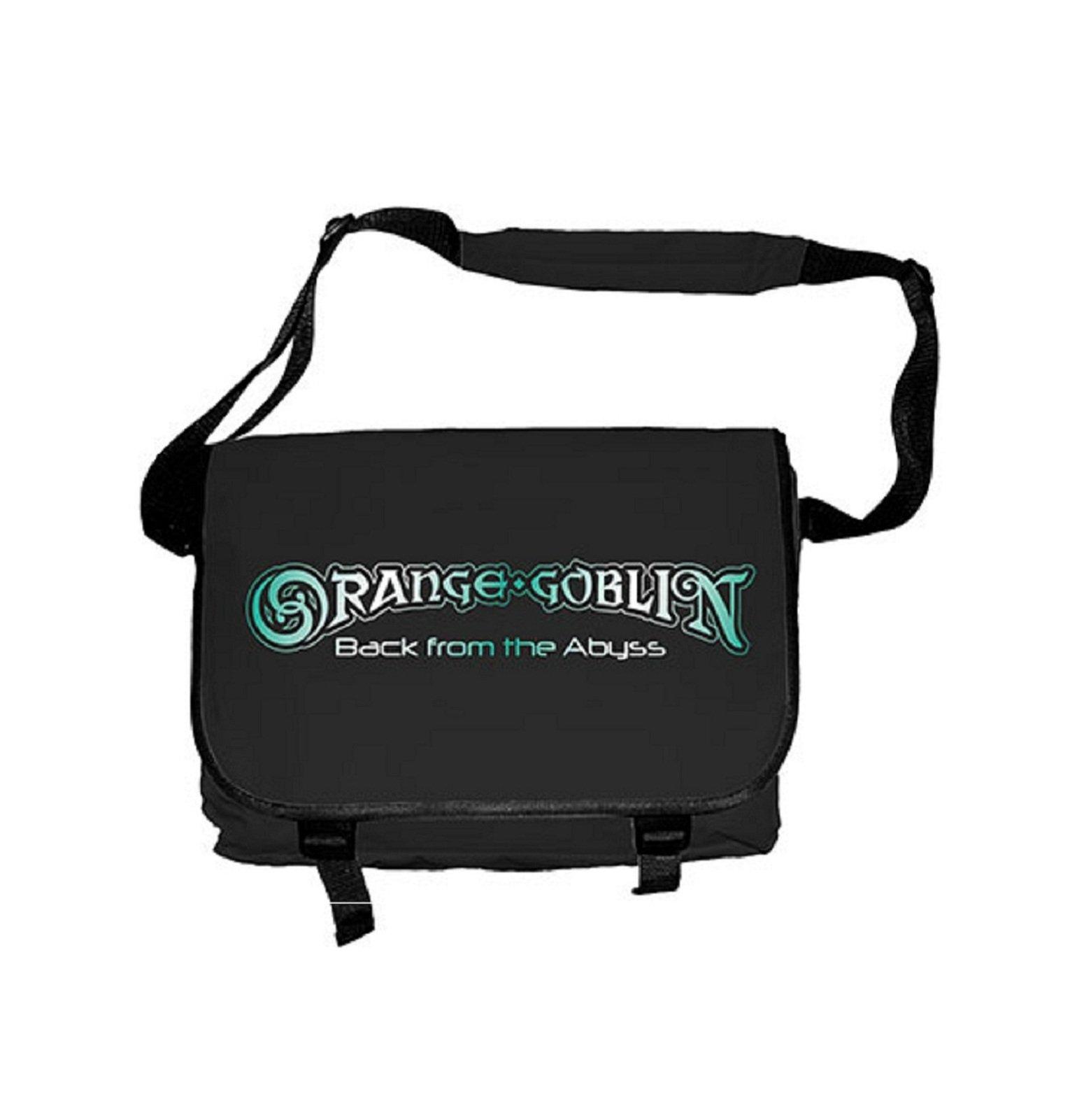 Orange Goblin Back From The Abyss Official Black Messenger Bag