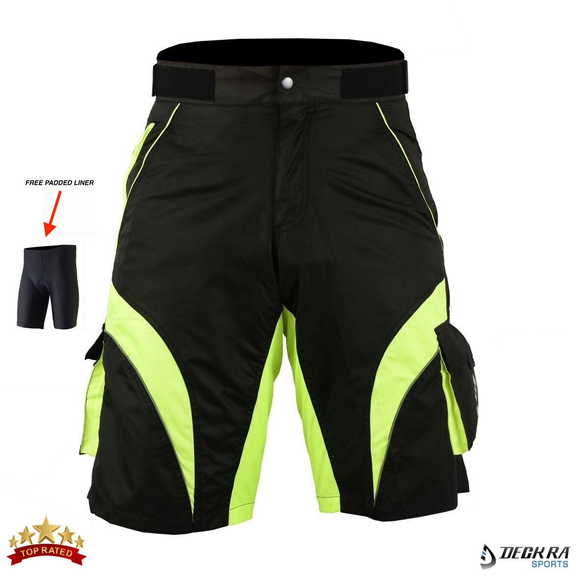 eec0411b0e DECKRA: Top Range Cycling Brand For Excellent Comfort & Performance- Our  specifically designed MTB Shorts are non-restrictive, loose fitting and  suitable ...