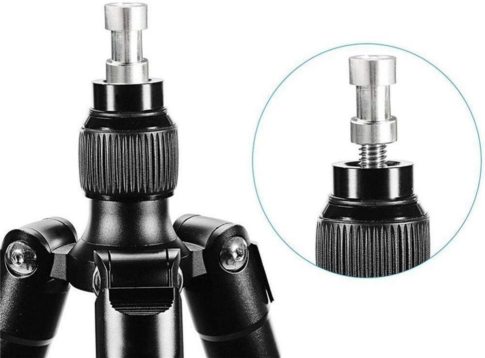 RMISODO 5 Pieces 1//4 inch 3//8 inch Tripod Converter Thread Screw Adapter Mount Set for Camera Tripod Flash Light Stand