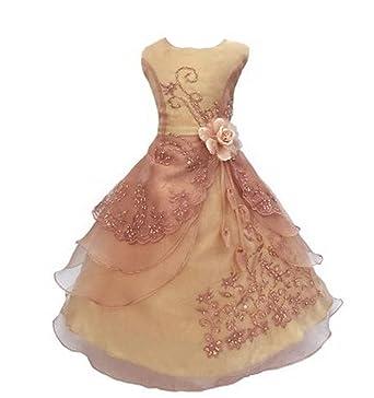 e92ec01988737 Honey baby 女の子フォーマルドレス 子供ワンピース ガールズフォーマル キッズドレス スパンコール ジュニア用 ロングスカート