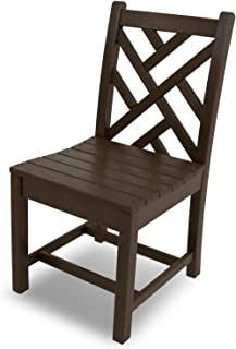 product image for POLYWOOD CDD100MA Chippendale Dining Side Chair, Mahogany