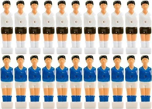 Maxstore - Juego de 22 figuras de futbolín para barras enteras y con ...
