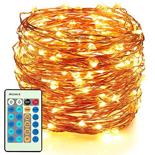 led decorative fairy string lights moobibear 66ft 200 leds import it all. Black Bedroom Furniture Sets. Home Design Ideas