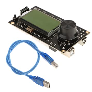 MagiDeal 1 Pieza Repuesto V2.2 Main Bord con LCD y Control ...