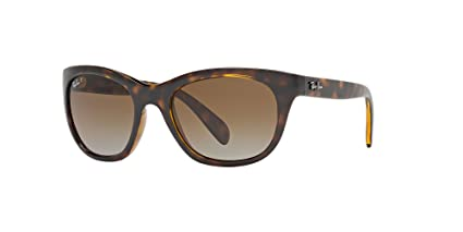 1836c5f5a5 Image Unavailable. Image not available for. Color  Ray-Ban Highstreet  RB4216 - 710 T5 Sunglasses Tortoise w  Polarized Brown Gradient