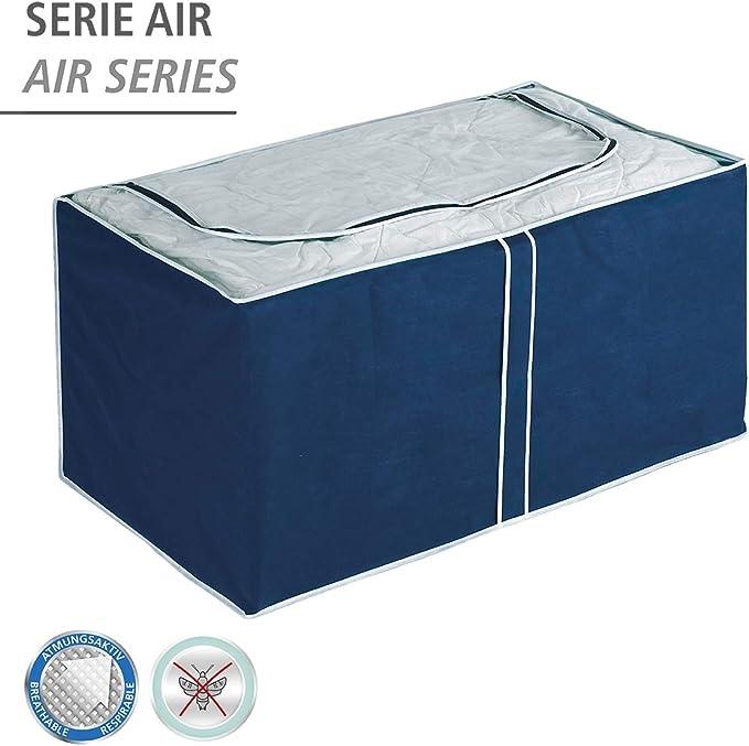 Wenko Air Caja Jumbo, Polipropileno, Azul, 53x91x48 cm: Amazon.es ...