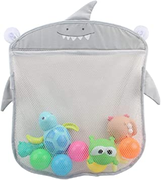 Bath Toys  Kids Toy Bathroom Organizer Mesh Bag Net Holder Baby Shower Storage