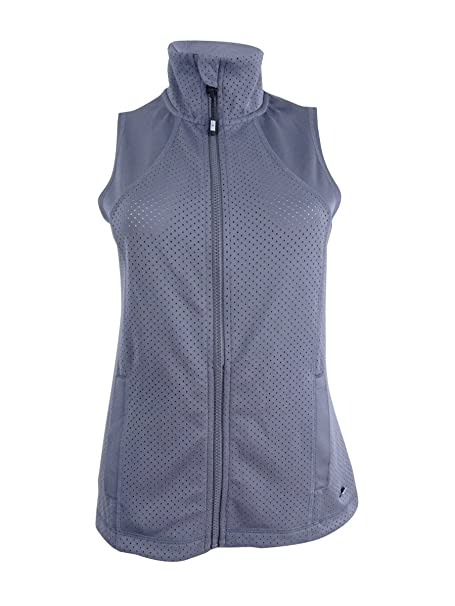 70e03375fd5d3 Image Unavailable. Image not available for. Color  Tommy Hilfiger Sport  Womens Workout Fitness Vest Gray M