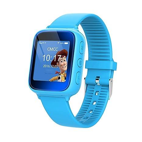 Touch GPS Tracker Smart Watch - Reloj inteligente para niños y niñas, con pulsera SOS