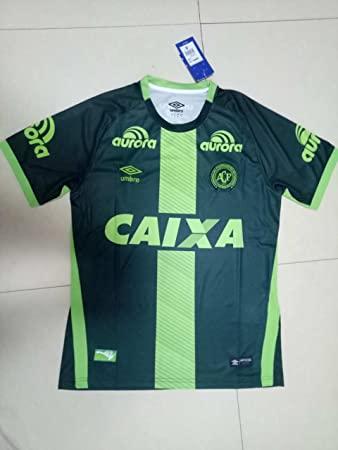 Umbro Chapecoense 2016 2017 Home Away Soccer Jersey Stadium Shirt Short  Sleeve 5c747d7c8
