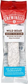 product image for CREMINELLI Wild Boar Salami - Humanely-Raised U.S. Pork, Keto & Paleo Friendly, High Protien - Sugar Free, Gluten Free (Wild Boar, 5.5 Ounce (Pack of 1))…