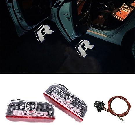 Amazon.com: DELEIKA Luz de aviso LED para puerta de auto ...