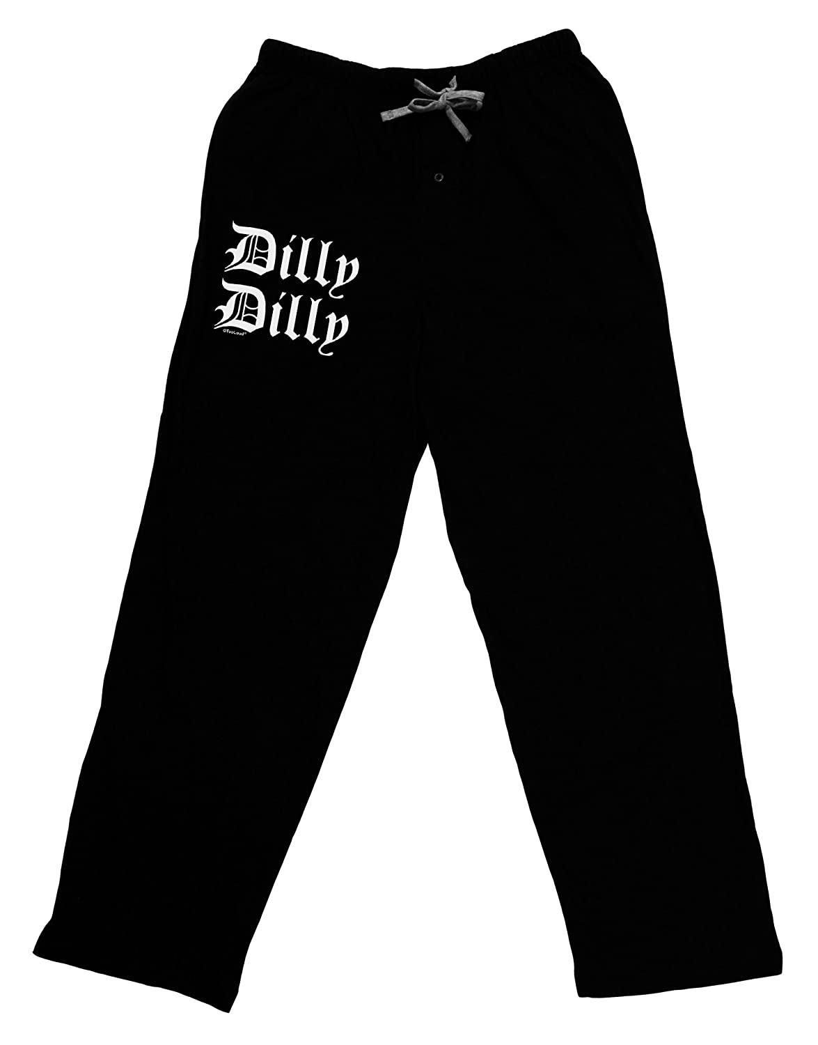 TOOLOUD Dilly Dilly Beer Drinking Funny Adult Lounge Pants L-PO115W-TD-DRKLNGPNT-P
