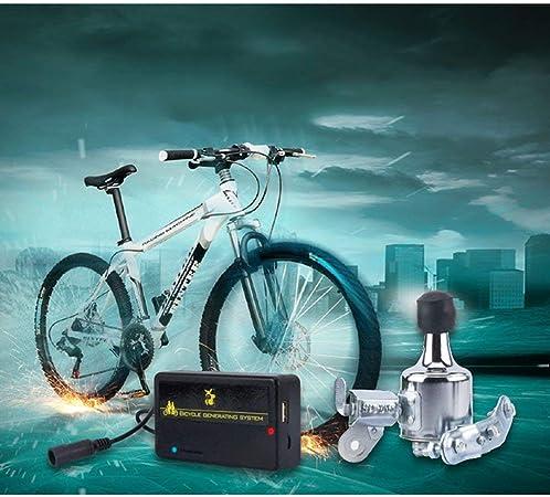 BEST4U Dinamo Bicicleta Batería Recargable USB Generador Kit de ...
