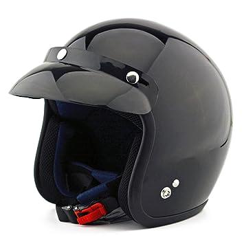 Kangzy Casco de seguridad NM-207 para motocicleta, moto, moto, scooter,