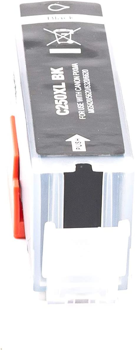 MS Imaging Supply Compatible Inkjet Cartridge Replacement for Canon PGI-250xl Bk Black, 4 Pack