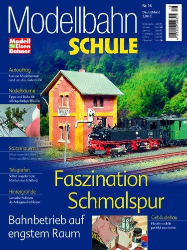 MEB Modellbahn Schule Nr. 16 - Faszination Schmalspur - Bahnbetrieb auf engstem Raum - ModellEisenBahner