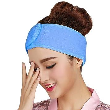 Amazon.com : Spa Facial Headband Head Wrap Terry Cloth ...