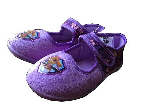 premium selection c92ad d6b15 Paw Patrol Hausschuhe Kinder Mädchen Gr. 25-31 pink lila Pantoffeln neu!