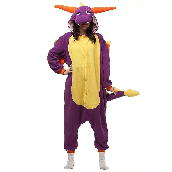 f8f0bcd91e Pigiama Anime Cosplay Costumi di Carnevale Adulti Pigiama Tuta Animali:  Amazon.it: Abbigliamento