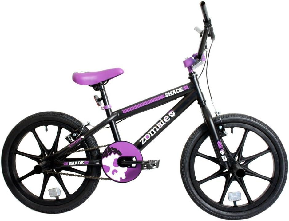 Nueva Zombie 18 pulgadas Shade para bicicleta BMX Mag rueda negro ...