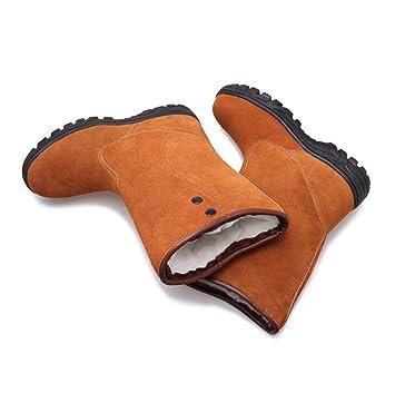 ... impermeable resistente al desgaste acogedor botines de trabajo seguro de trabajo botas para trabajadores de carretera soldador,A,41EU: Amazon.es: Hogar