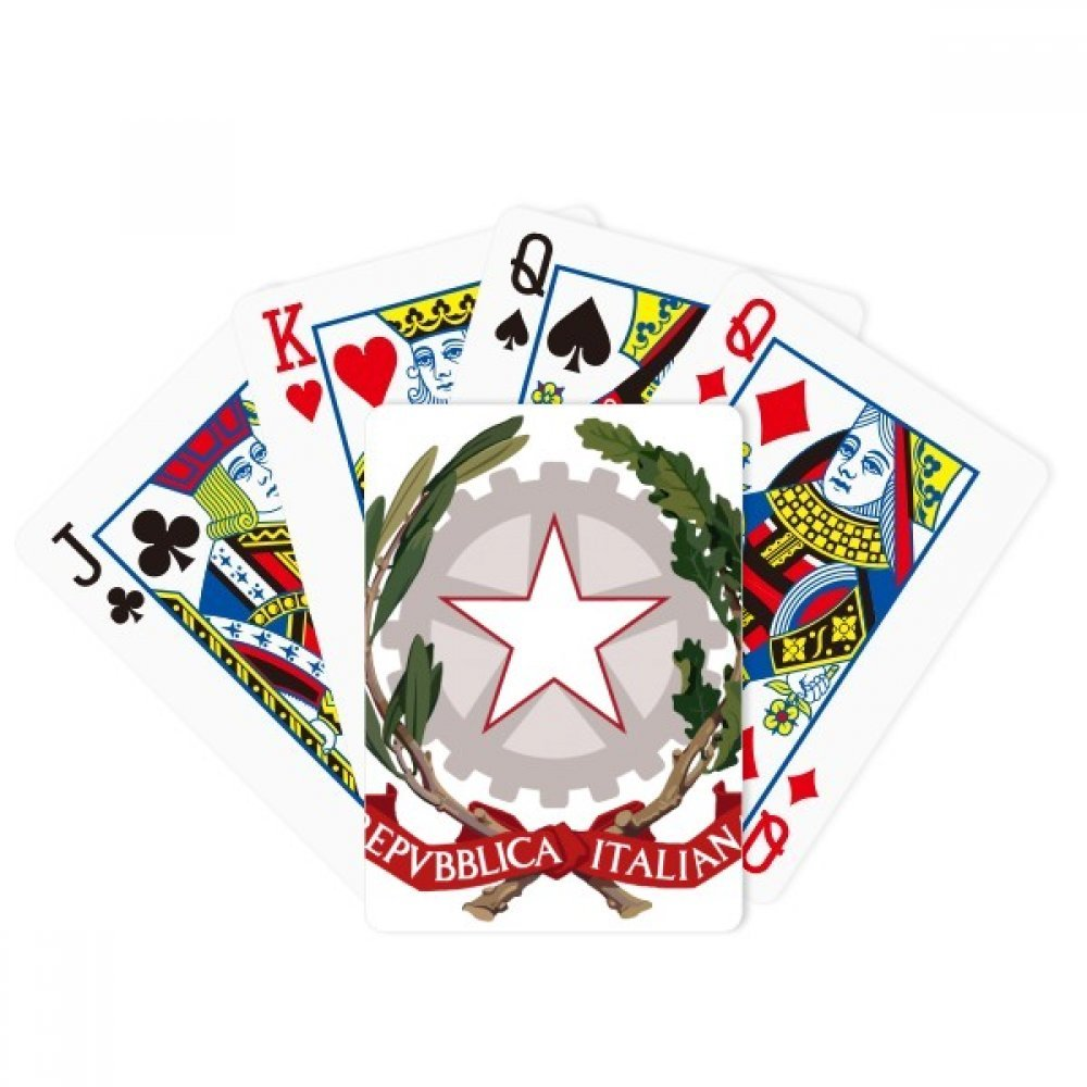 beatChong Italy Europe National Emblem Poker Playing Card Tabletop Board Game Gift