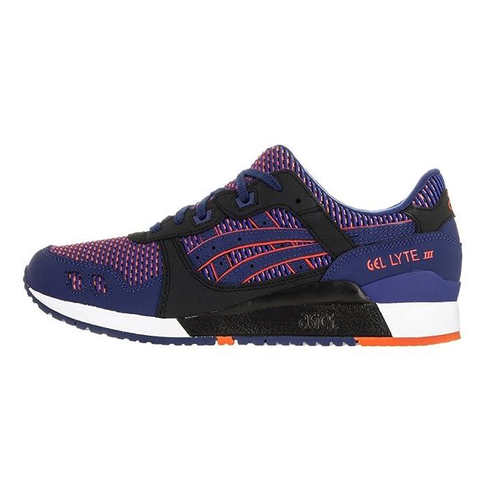 Asics - Gel Lyte III Chameleoid Mesh - Blue Print-Orange - Sneakers Men - US 10 - EUR 44 - CM 28 EIKhbHUXSu