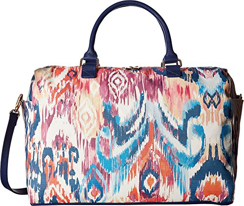 deux-lux-womens-ikat-weekender-navy-luggage