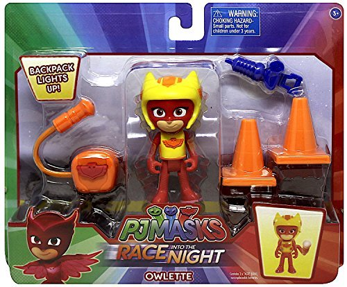 Action Figure Race - Pj Masks Race into the Night Owlette Action Figure Set 3