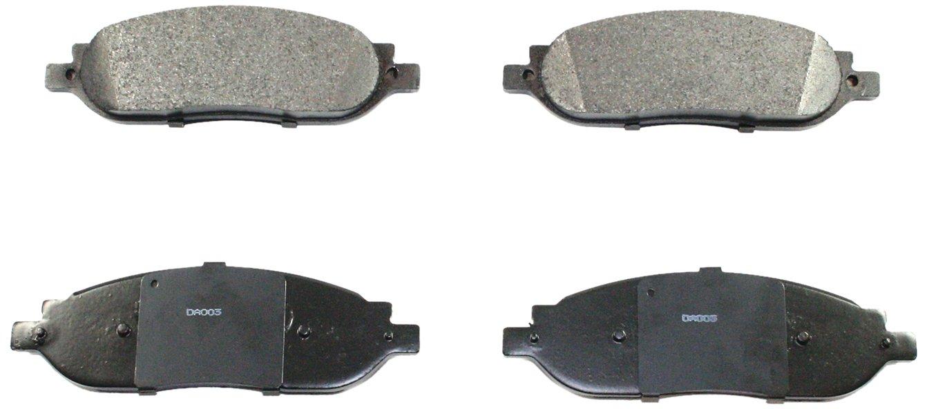 DuraGo BP1068 MS Rear Semi-Metallic Brake Pad