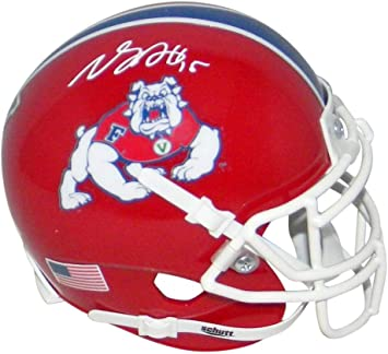 Amazon Com Davante Adams Autographed Signed Fresno State Bulldogs Red Mini Helmet Jsa Autographed College Mini Helmets Sports Collectibles