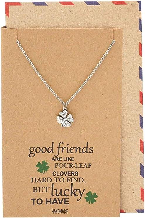 Four Leaf Clover Bracelet Knot Bracelet Bridesmaid Four Leaf Clover Jewelry Irish Bridesmaid Thank You Bracelet Friendship Bracelet
