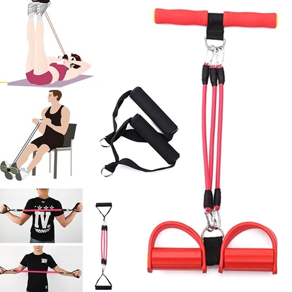 0618424461ce80 Buy Cables CloudTM Fitness Body Trimmer Exercise Foot Pedal Expander  Equipment Bodybuilding Pull Rope Online at Low Prices in India - Amazon.in