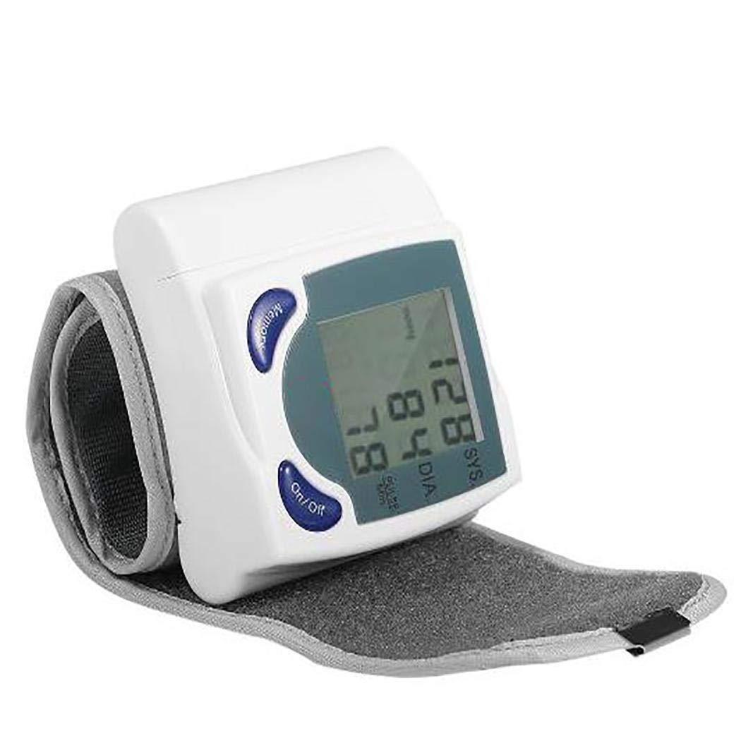 Qenci Wrist Digital Blood Pressure Monitor Tonometer Health Care Blood Pressure Monitors