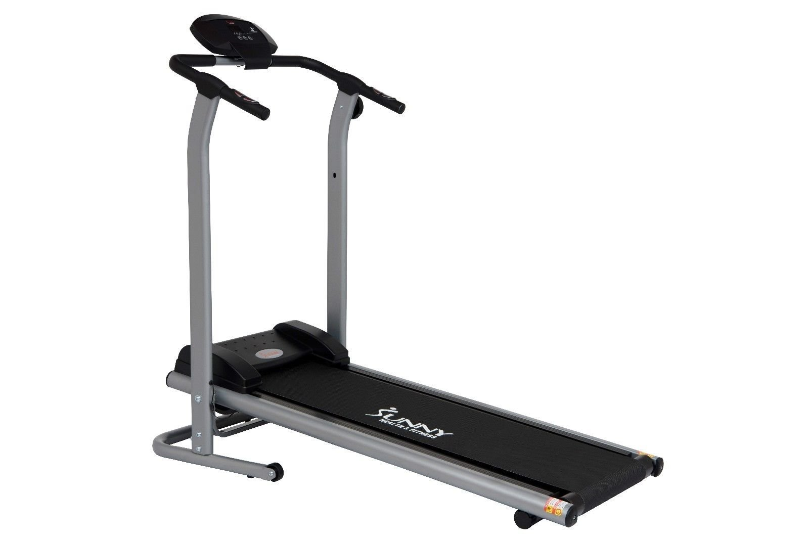 Sunny Health & Fitness T7614 Adjustable Tension Magnetic Treadmill
