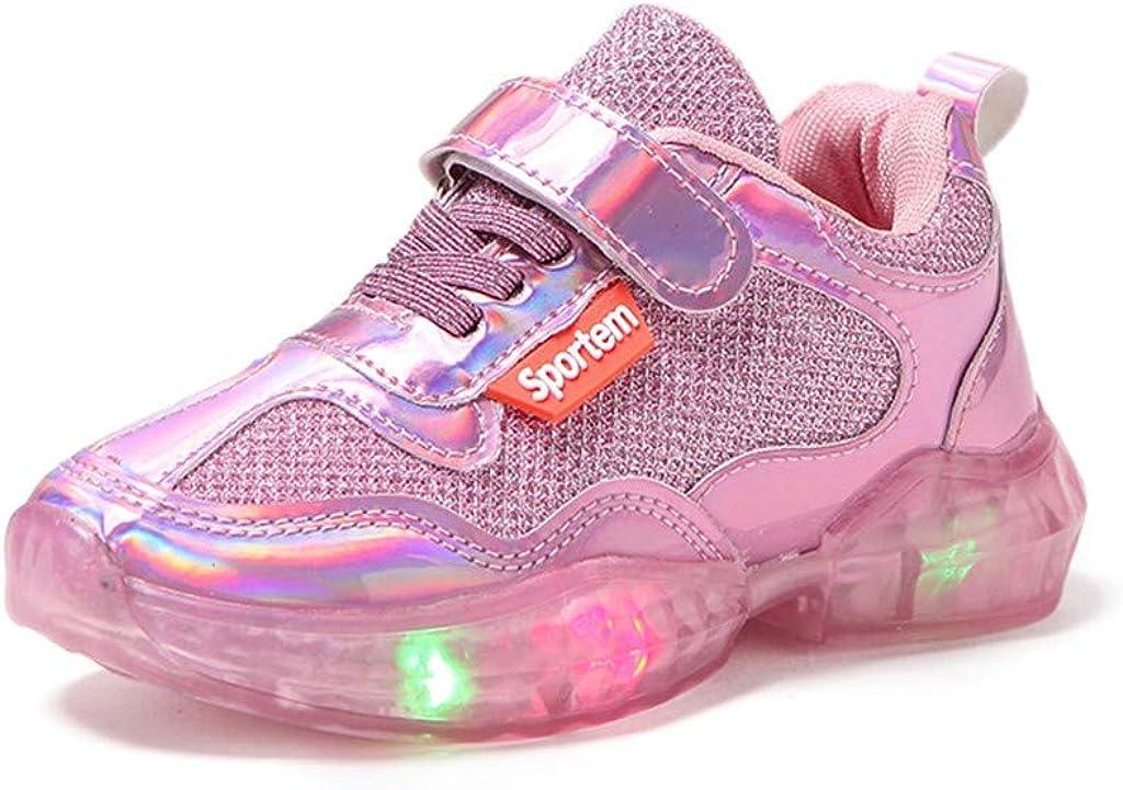 Amazon.com: Zapatillas de patinaje para niños y niñas con ...