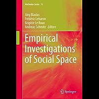 Empirical Investigations of Social Space (Methodos Series Book 15) (English Edition)