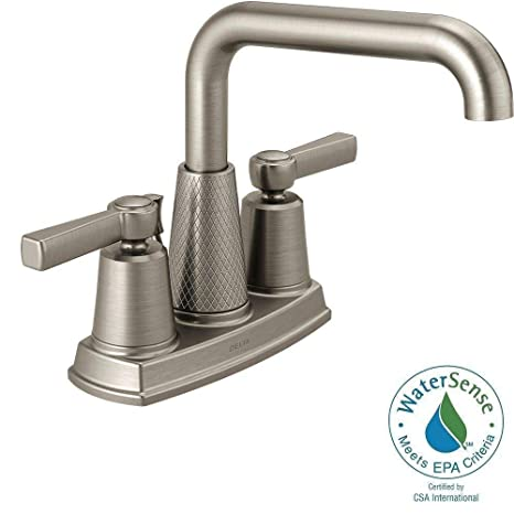 Delta Allentown 4 In Centerset 2 Handle Bathroom Faucet In