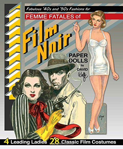 (Fabulous '40s and '50s Fashions for Femme Fatales of Film Noir Paper)