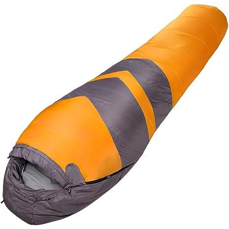 QFFL shuidai Saco de Dormir Momia/Algodón / Adult Acampar al Aire Libre Espesar Saco