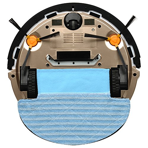 Amazon.com - seebest Robot Vacuum Cleaner with Gyroscope Navigation and Wet Mopping Robot Aspirador D750 -