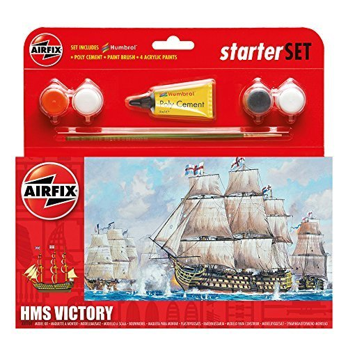 - Airfix A55104 HMS Victory Model Small Starter Set by Airfix
