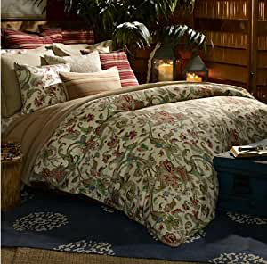 Amazon Com Lauren By Ralph Lauren Antigua Floral Duvet