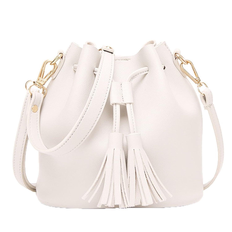 170af41c32ff AKENA Women s Bucket Bag Mini Cute Handbag Small Crossbody Shoulder  Drawstring Purse Handbags for Ladies and Girls