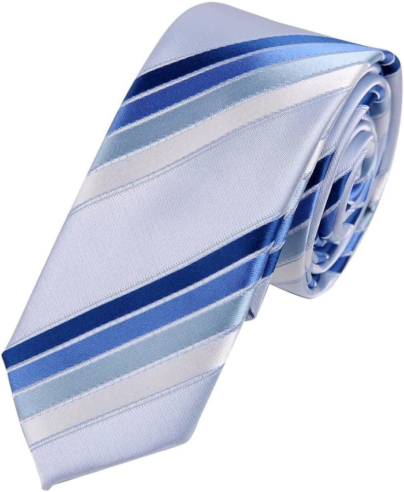 PS1150 Negocio Regalo Azul Economšªa flaco corbata a juego actual ...